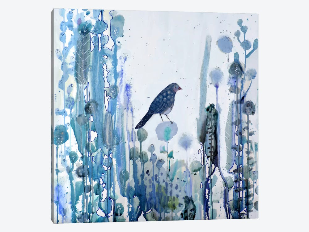 L'heure Bleue by Sylvie Demers 1-piece Canvas Art