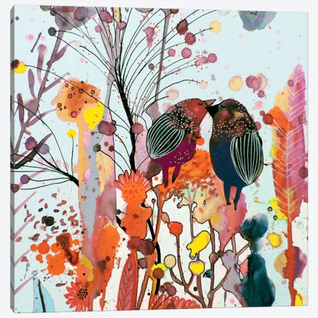Love Moi Canvas Print #SDS206} by Sylvie Demers Canvas Art