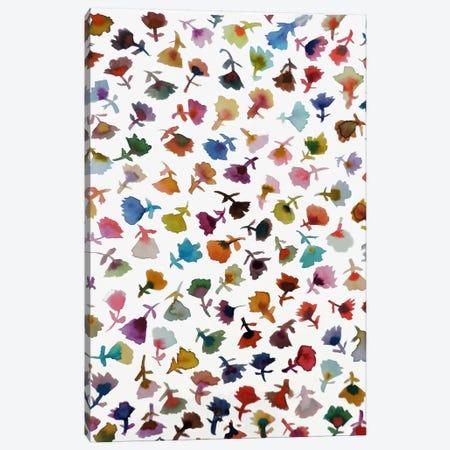 Petites Fleurs II Canvas Print #SDS208} by Sylvie Demers Canvas Print