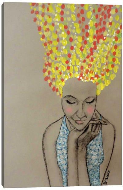 Miss Sunshine Canvas Art Print