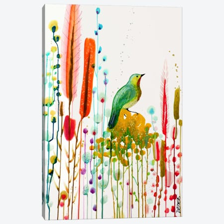Si Pres du Ciel Canvas Print #SDS210} by Sylvie Demers Canvas Artwork