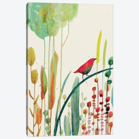 To Sing For Canvas Print #SDS215} by Sylvie Demers Canvas Print