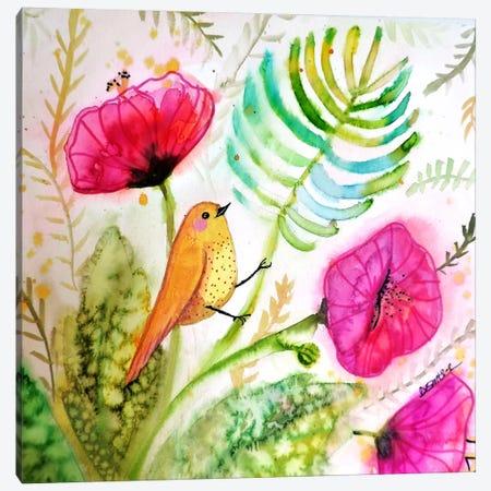 Tropicoco Canvas Print #SDS216} by Sylvie Demers Canvas Print