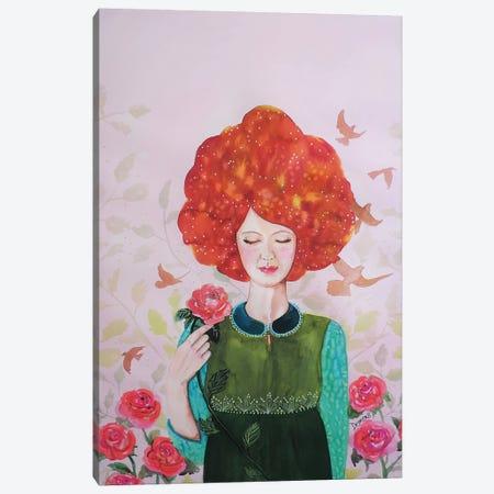 Chloe Canvas Print #SDS225} by Sylvie Demers Canvas Artwork