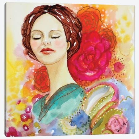 Day Dream Canvas Print #SDS227} by Sylvie Demers Canvas Artwork