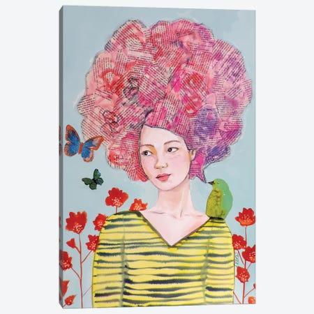 Histoires Dèenfance Canvas Print #SDS229} by Sylvie Demers Art Print