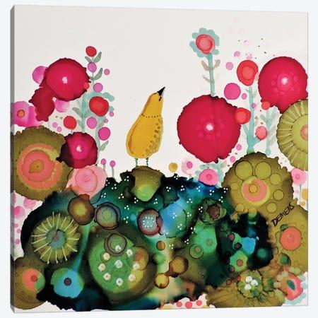 Joy Canvas Print #SDS230} by Sylvie Demers Canvas Wall Art