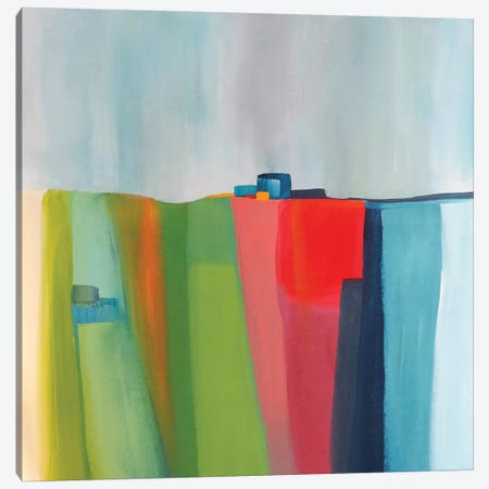 Le Bonheur Est Ici Canvas Print #SDS234} by Sylvie Demers Canvas Art Print