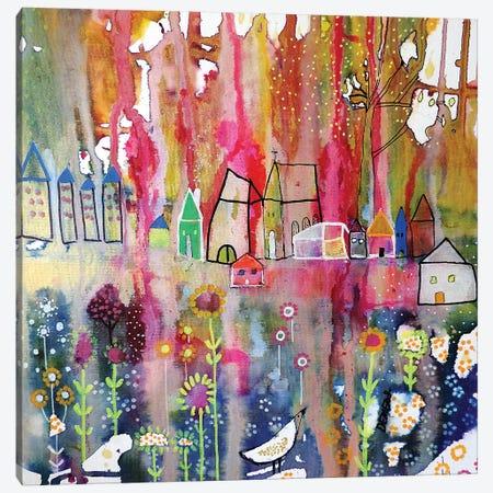 L'horizon Posé Canvas Print #SDS239} by Sylvie Demers Canvas Artwork