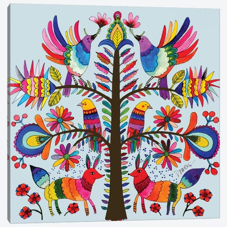 Otomi Colors Canvas Print #SDS244} by Sylvie Demers Canvas Art