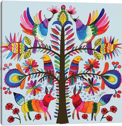 Otomi Colors Canvas Art Print