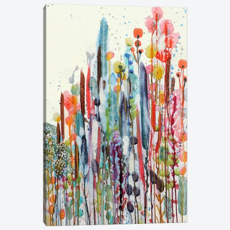 Petit Jardin II Canvas Print #SDS249} by Sylvie Demers Canvas Art Print