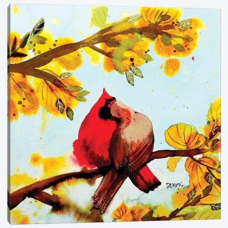 Pour Toujours Avec Toi Canvas Print #SDS251} by Sylvie Demers Canvas Wall Art