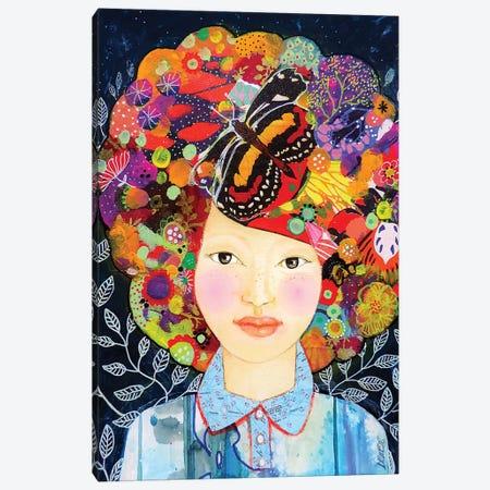 Tout Ce Qui M'habite Canvas Print #SDS257} by Sylvie Demers Canvas Art Print
