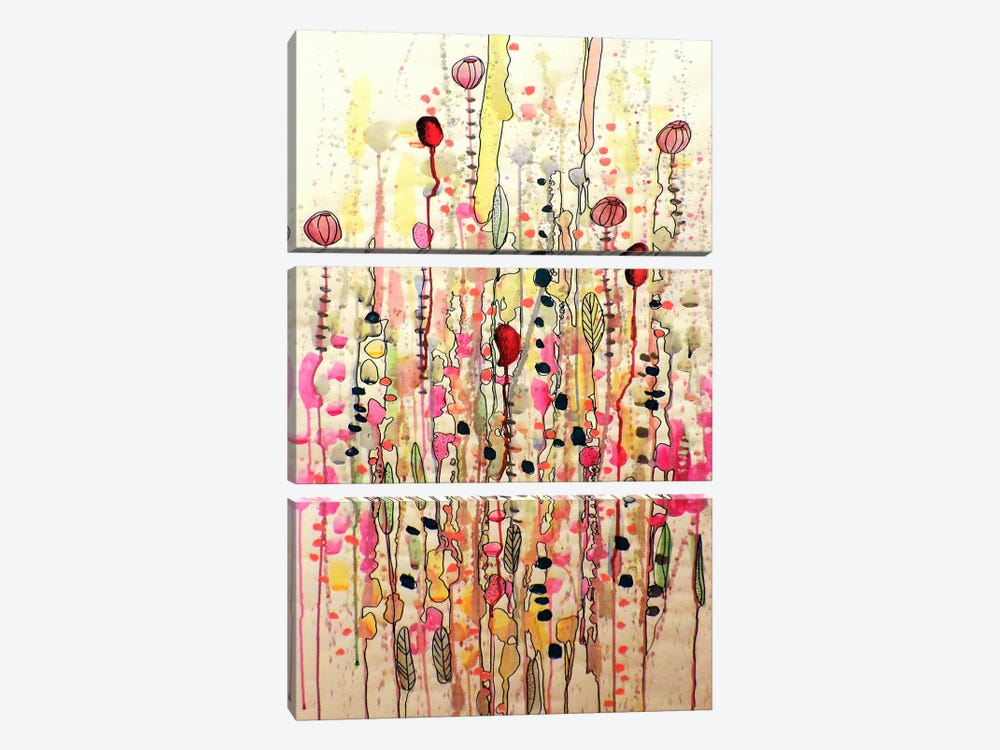 Samsara by Sylvie Demers 3-piece Canvas Art