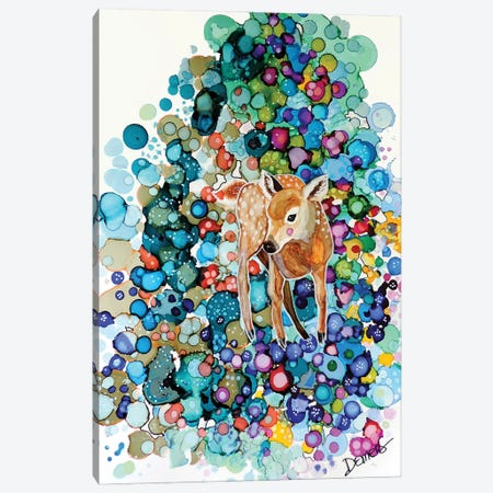 Apprendre La Vie Canvas Print #SDS260} by Sylvie Demers Art Print