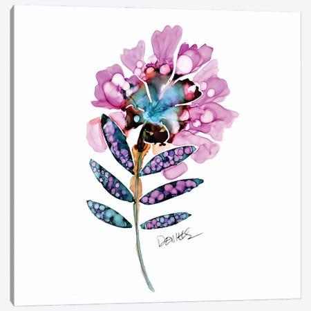 Fleur Du Jour Canvas Print #SDS275} by Sylvie Demers Canvas Art Print