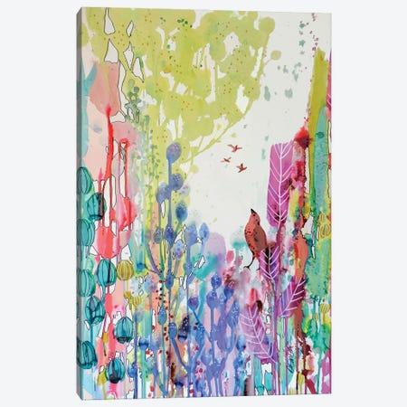 J'ai Tant Appris De Vous Canvas Print #SDS276} by Sylvie Demers Canvas Print