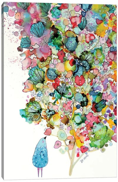 La Beaute En Offrande Canvas Art Print