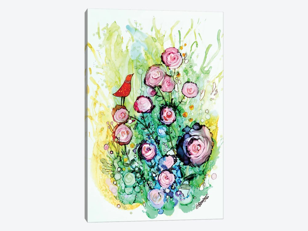 Profiter De La Brise by Sylvie Demers 1-piece Canvas Artwork