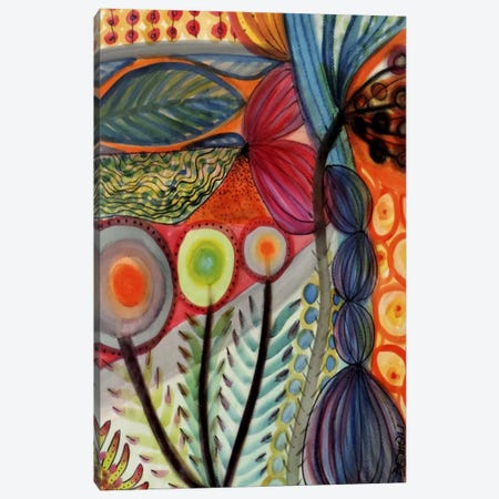 Vivaces Canvas Print #SDS29} by Sylvie Demers Canvas Art Print