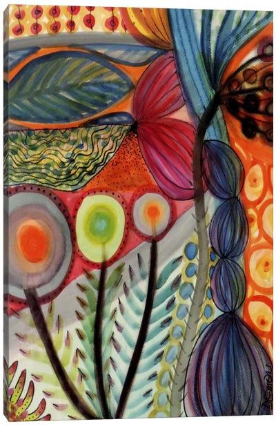 Vivaces Canvas Art Print
