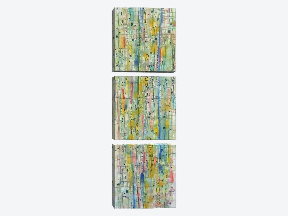 Air du Temps II by Sylvie Demers 3-piece Canvas Print