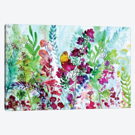 Revivre Canvas Print #SDS302} by Sylvie Demers Canvas Artwork