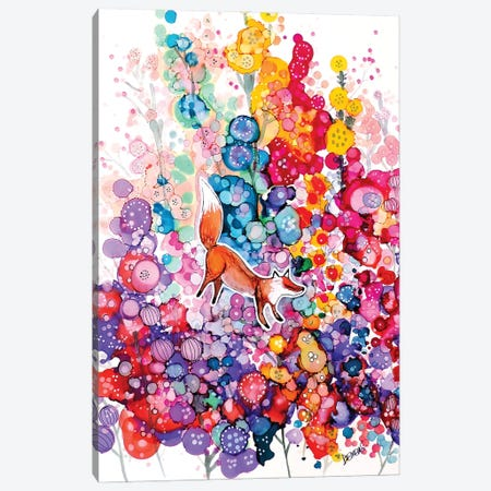 Tu Es Libre Canvas Print #SDS309} by Sylvie Demers Canvas Art