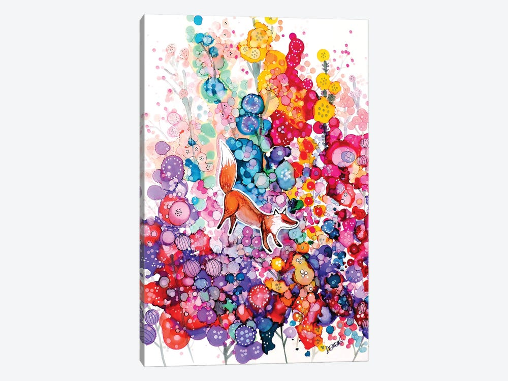 Tu Es Libre by Sylvie Demers 1-piece Canvas Print