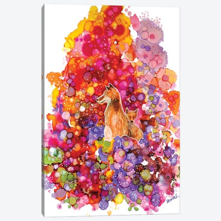Tu Es Precieux Canvas Print #SDS310} by Sylvie Demers Canvas Art Print