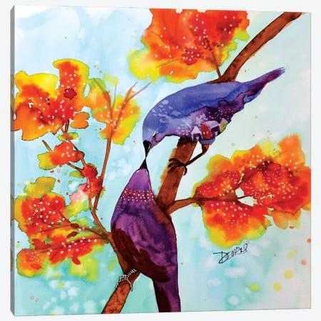 Un Peu De Douceur Canvas Print #SDS311} by Sylvie Demers Canvas Print