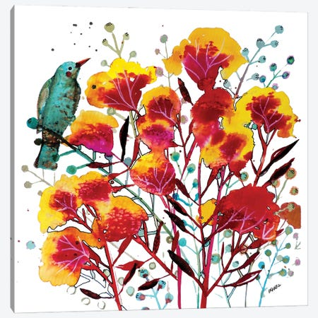 Wabi-Sabi Canvas Print #SDS312} by Sylvie Demers Canvas Print