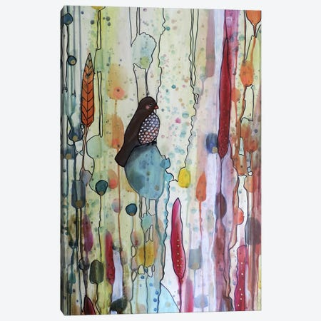 Sur La Route Canvas Print #SDS39} by Sylvie Demers Canvas Wall Art
