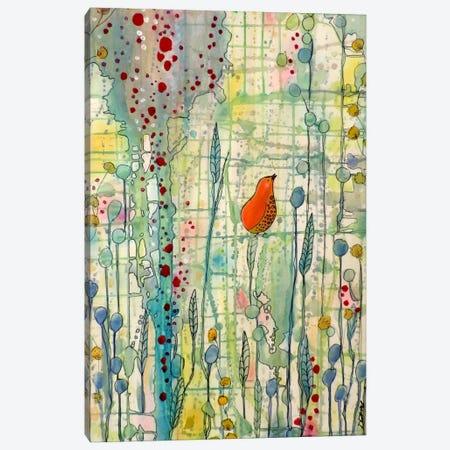 Alpha Canvas Print #SDS3} by Sylvie Demers Canvas Artwork