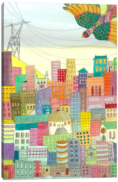 Ma Ville Canvas Print #SDS47
