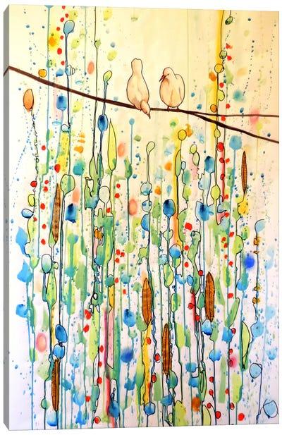 Toi Et Moi Canvas Print #SDS49