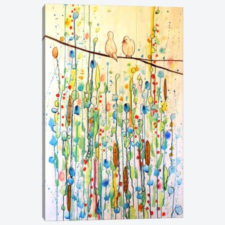 Toi Et Moi Canvas Print #SDS49} by Sylvie Demers Art Print