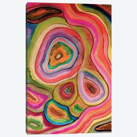 Agathes Canvas Print #SDS51} by Sylvie Demers Canvas Wall Art