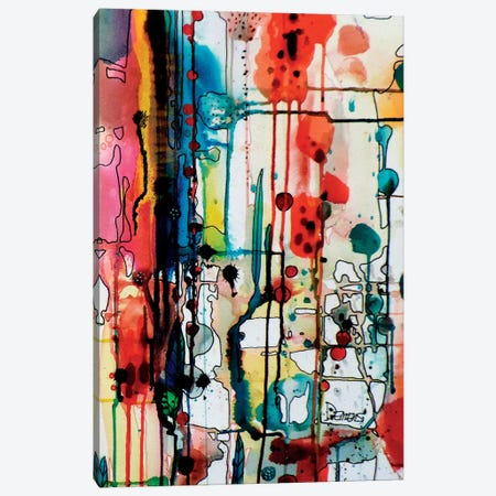 Charivari Canvas Print #SDS52} by Sylvie Demers Canvas Wall Art
