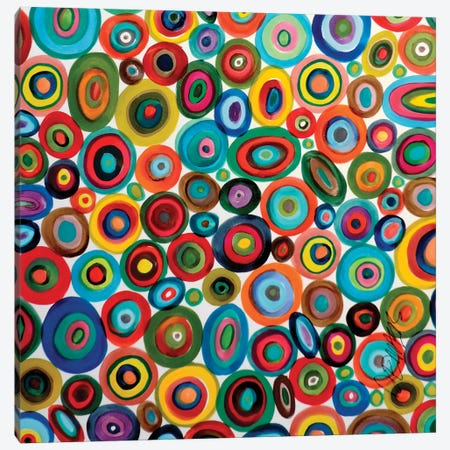 Club Soda Canvas Print #SDS53} by Sylvie Demers Canvas Art