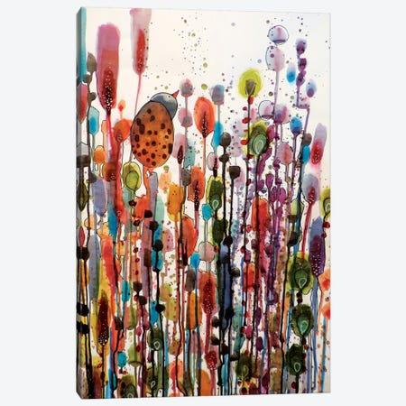 Je Suis La Canvas Print #SDS57} by Sylvie Demers Art Print