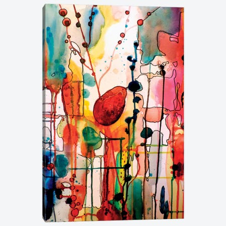 Le Troubadour Canvas Print #SDS58} by Sylvie Demers Canvas Art