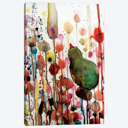 Waiting Canvas Print #SDS63} by Sylvie Demers Canvas Print