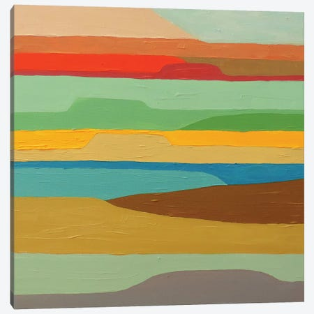 Baja Coussin Canvas Print #SDS69} by Sylvie Demers Art Print
