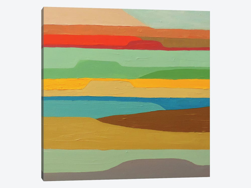 Baja Coussin by Sylvie Demers 1-piece Canvas Wall Art