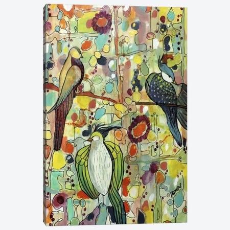 Assemblée Canvas Print #SDS6} by Sylvie Demers Art Print
