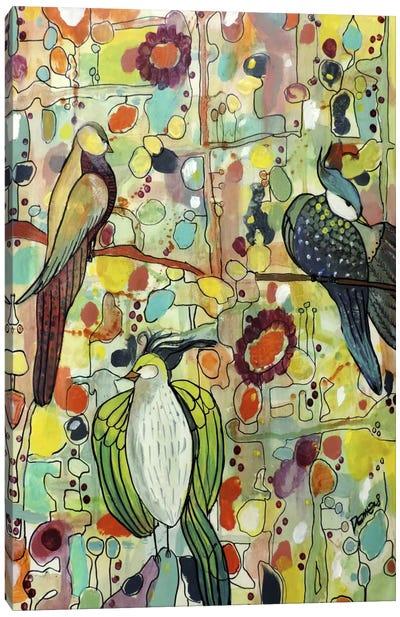 Assemblée Canvas Art Print