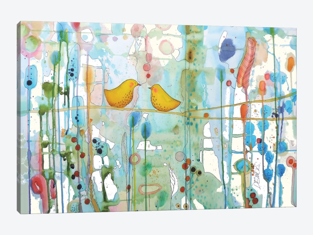 Dans Chaque Coeur by Sylvie Demers 1-piece Canvas Wall Art