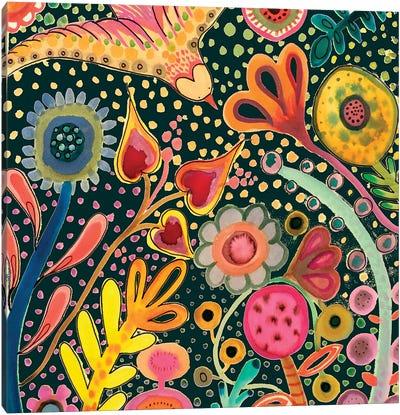 Depuis L'aurore II Canvas Art Print